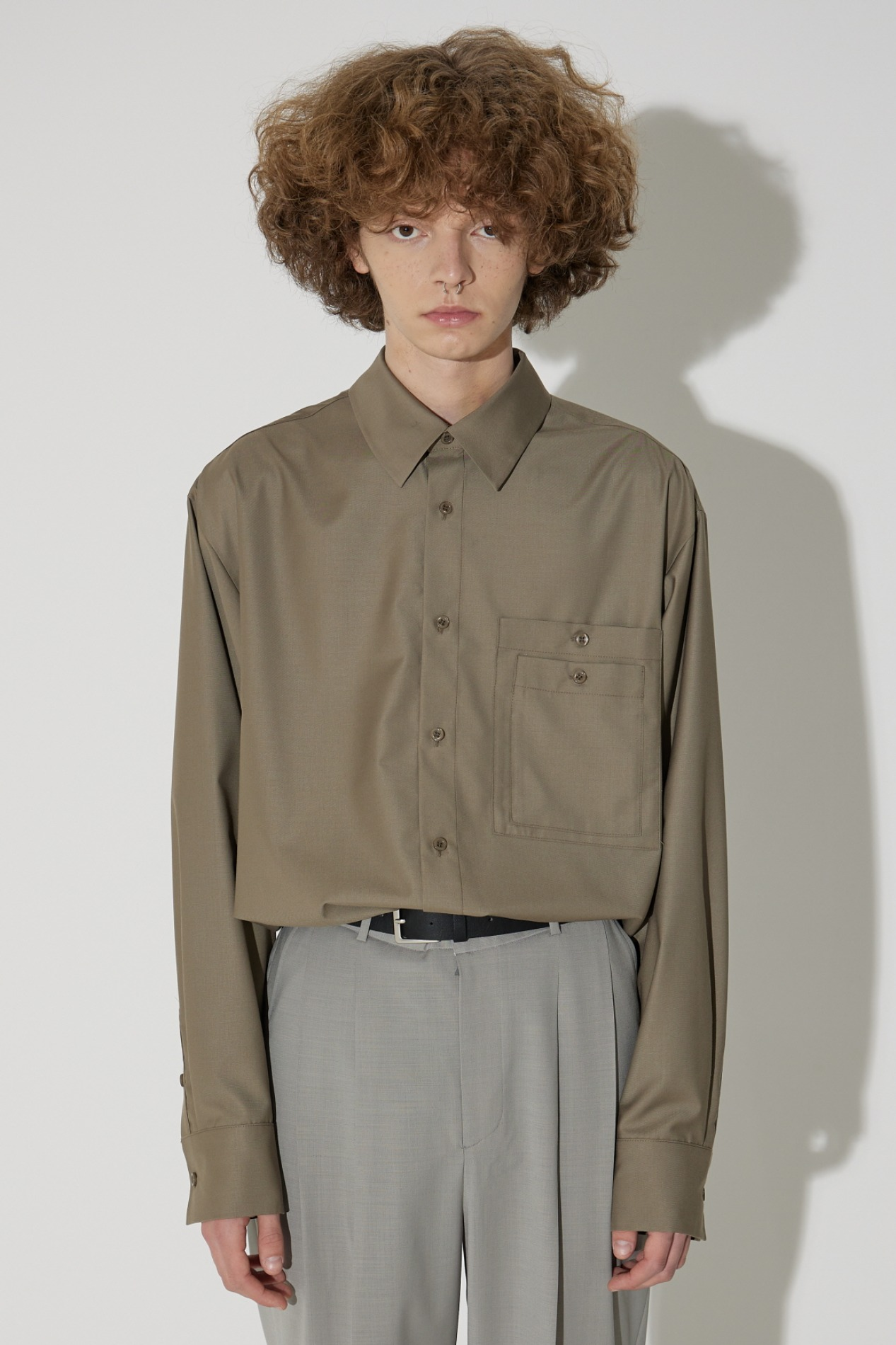 Two Pocket Shirt(Khaki)