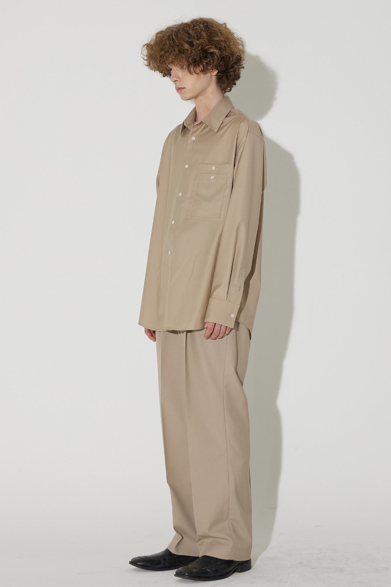 Two Pocket Shirt(Beige)